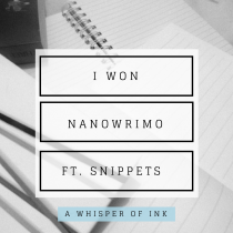 NaNoWriMo @ A Whisper Of Ink